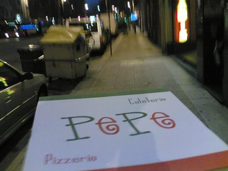 Pizzería Pepe